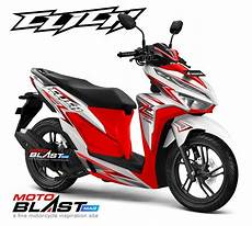 Modifikasi New Vario 2018 by Modifikasi Striping Honda New Vario 150 Facelift 2018