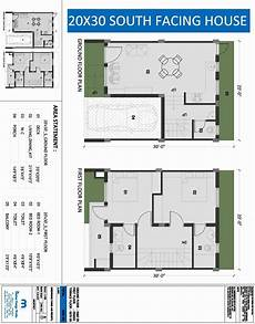 south facing duplex house plans 20 x 30 square feet house plan awesome south facing floor