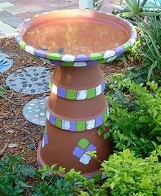 Gartendeko Selber Bauen - diy garten dekoideen mit tont 246 pfen die ganz leicht