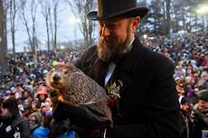 groundhog day 2019 groundhog day 2019 punxsutawney phil doesn t see shadow predicts an early spring
