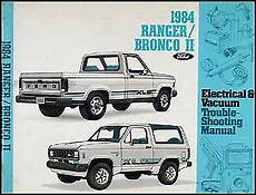 electric and cars manual 1985 ford f series parental controls 1984 ford ranger electrical and vacuum troubleshooting manual 84 truck original ebay