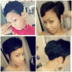 straightened my twa to trim my ends tapered twa natural