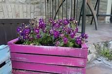 vasi in legno fai da te fioriere da esterno
