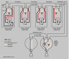4 way light switch wiring using nm cable light switch wiring 3 way switch wiring 4 way light