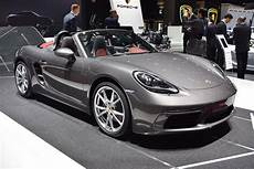 porsche 718 boxster arrives at geneva with its new bod