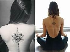 Tattoos Frauen Rücken - 1001 ideas and meanings some motifs