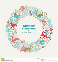 merry christmas and happy new year greeting card stock vector image 35584367