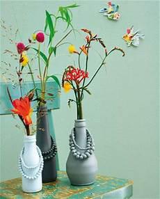 Vasen Selber Machen - bastelideen kreativ sein ganz einfach vasen selber