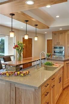 Kitchen Backsplash Ideas With Birch Cabinets by Contemporary Kitchen With Quartz Countertops And Birch
