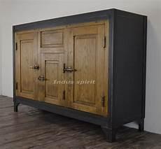 meuble style industriel métal 24521 buffet vintage m 233 tal et bois