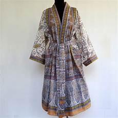 peignoir kimono femme coton hh02 jornalagora