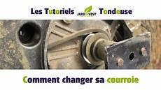 Tutoriel Tondeuse N 176 3 Comment Changer La Courroie D