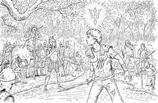 Malvorlagen Jackson White Percy Jackson Ausmalbilder