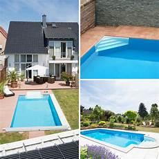 pooltreppe luxus und komfort auch beim pool selbstbau