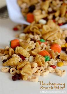 fall snack mix for thanksgiving sprinkle some fun