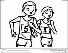 sports day coloring pages 17757 olympic race walking colouring page with images race walking sports day colouring