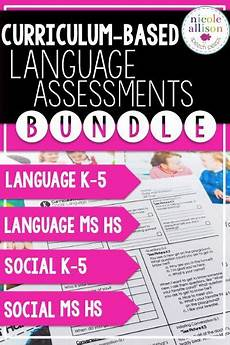 saving money worksheets for highschool students 2184 curriculum based language assessments bundle speech therapy activities speech language