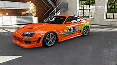 Foza 5 Toyota Supra The Fast And The Furious Car