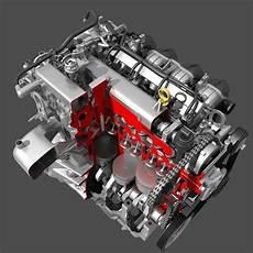Car 4 Cylinder by Car 4 Cylinder Engine Cutaway 3d Model Max Obj Cgtrader