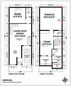 indian small house plans 18x45 house plan with 3d elevation by nikshail my house