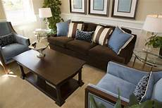 Interior Designs For Living Room With Brown Furniture