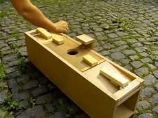 Katzenfalle Selber Bauen - self made marten trap selbstgebaute marderfalle diy