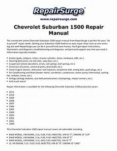 book repair manual 2006 chevrolet suburban user handbook chevrolet suburban 1500 repair manual 2000 2011