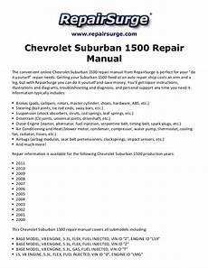 auto repair manual free download 1994 chevrolet suburban 2500 transmission control chevrolet suburban 1500 repair manual 2000 2011