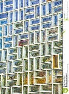 Mur De Briques En Verre Image Stock Image Du Home