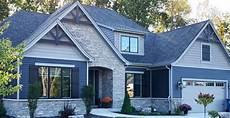 modern craftsman exterior veneer stone home masonry stone facade buechel stone