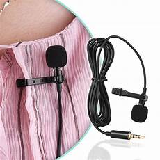 Andoer Mini Microphone Clip Lapel Lavalier by Aliexpress Buy Andoer Ey 510a Mini Portable Clip On