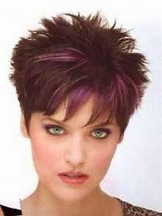 spiky short haircuts for women