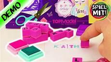 Topmodel Karten Selber Machen Mit Stempel Set By Depesche