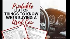 how to know if a used car is a good deal yourmechanic advice printable list of things to know when buying a used vehicle