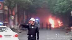 Gambar Yang Diposting Di Microblog Weibo Menunjukkan Api