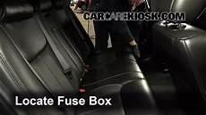 Interior Fuse Box Location 2006 2011 Cadillac Dts 2006