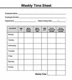 free 18 sle weekly timesheet templates in google docs