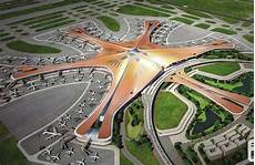Neuer Flughafen Peking - beijing s new airport will be the in the world