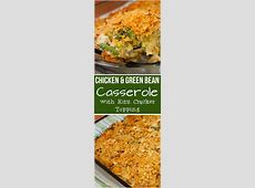 easy chicken and green bean casserole_image