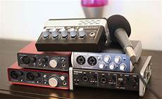 Low Cost Usb Audio Interfaces Review Six Colors