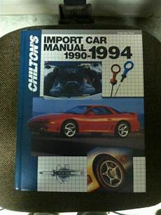 what is the best auto repair manual 1994 suzuki swift parking system import auto repair manual 1990 94 by chilton automotive books ebay