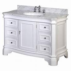 kitchen bath collection kbc katherine 48 quot single bathroom vanity set reviews