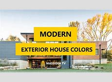 45  Best Modern Exterior House Colors Ideas 2018   YouTube