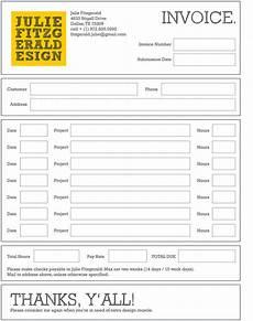 contoh faktur invoice tagihan dengan desain menarik 23 free download