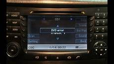 How To Fix Quot Dvd Error Quot On Mercedes W211 Comand Ntg1