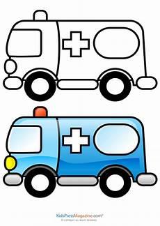 the colors worksheets 12819 shapes and colors ambulance kidspressmagazine