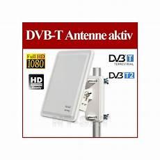 aktiv dvb t antenne opticum ax 800 mit wandhalterung