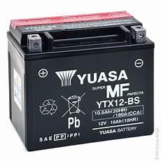 Batterie Moto Yuasa Ytx12 Bs 12v 10ah Mot9205 All