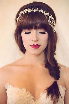 Wedding Hairstyle Bangs