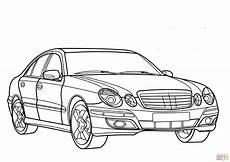Malvorlagen Lkw Mercedes Mercedes E Class Coloring Page Free Printable Coloring Pages